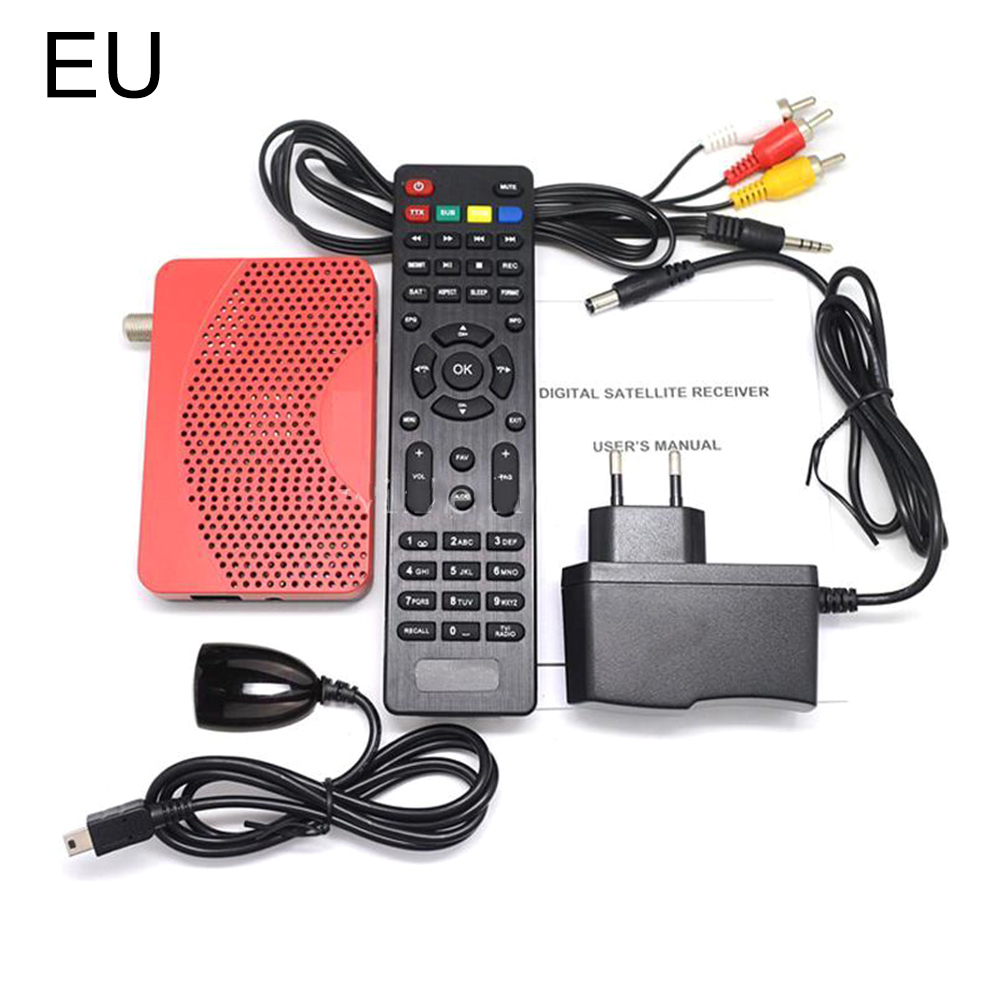 Mini DVB S2 IPTV Combo Receiver Receptor TV BOX with HDMI 1080P ...