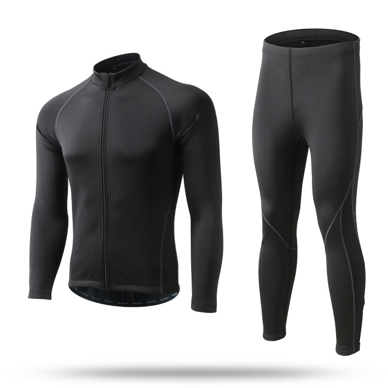 Cycling Jacket Jerseys Sets Suits Long Sleeve Autumn Winter Breathable Waterproof Windproof Warm Men Women Cycling Clothing high quality whole set eva anti crash goalkeeper sets breathable long sleeve goalkeeper jerseys soccer sets