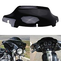 6 5 Motorcycle Wave Windshield Windscreenor For Harley Touring FLHX FLHT 2014 2015 2016 Most Models