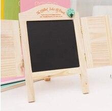NEW wooden blackboard message drawing board mini chalkboard small blackboards For Wedding/Party/Dining Room Decoration