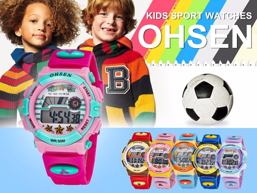 Hot OHSEN Children Watch Boys Life Waterproof Digital LED Sports Watch Kids Alarm Date Casual Watch Gift Hombre Reloj Deportivo (13)