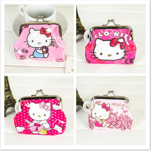 Hello Kitty Wallet Mini Coin Purse Cheap Mini Wallets NO Mini Order 1PC Lowest Price 2016 Hot Fashion kitty hello kitty резиновый баскетбол no 1 no 1 ha1101 кт роуз