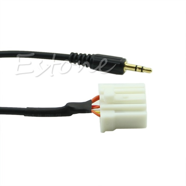 1Pc Universal 3.5MM Mini Jack AUX In Audio Cable For Mazda 3 Mazda 5 Mazda 6 Mazda 2