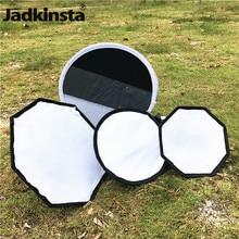 Jadkinsta Mini Flash Diffuser Softbox Reflector Round Octagon Mini Photo Diffuser Soft Light Box for Canon Nikon Sony Camera