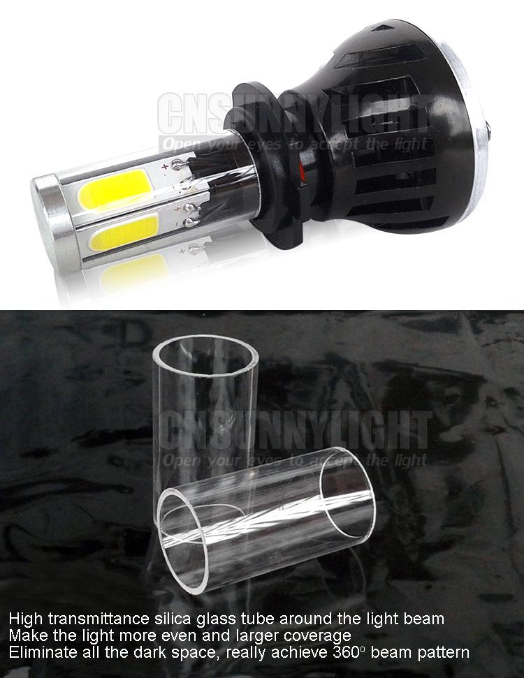 H4 H7 H13 H11 H1 9005 9006 COB LED Headlight 80W 8000LM Super Brigh Car LED Headlights Bulb Head Lamp Fog Light Pure White 6000K (18)