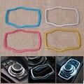Nueva Moda Colorida Botón de Ajuste de La Cubierta Interior Del Coche Multimedia Para BMW 1 3 4 5 7 Serie E81 E70 F10 F30 X1 X3 X4 X5 2013 2014
