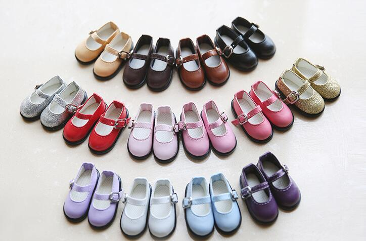 Lovely Hollow out Shoes NEW 1//6 BJD YOSD Doll Shoes 3 color Pink//Black//Blue
