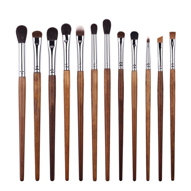 BBL 1 Piece Rosewood Professional Eye Makeup Brush Precision Blender Highlighter Eyeshadow Smudger Brush Angled Eyebrow Brushes 1