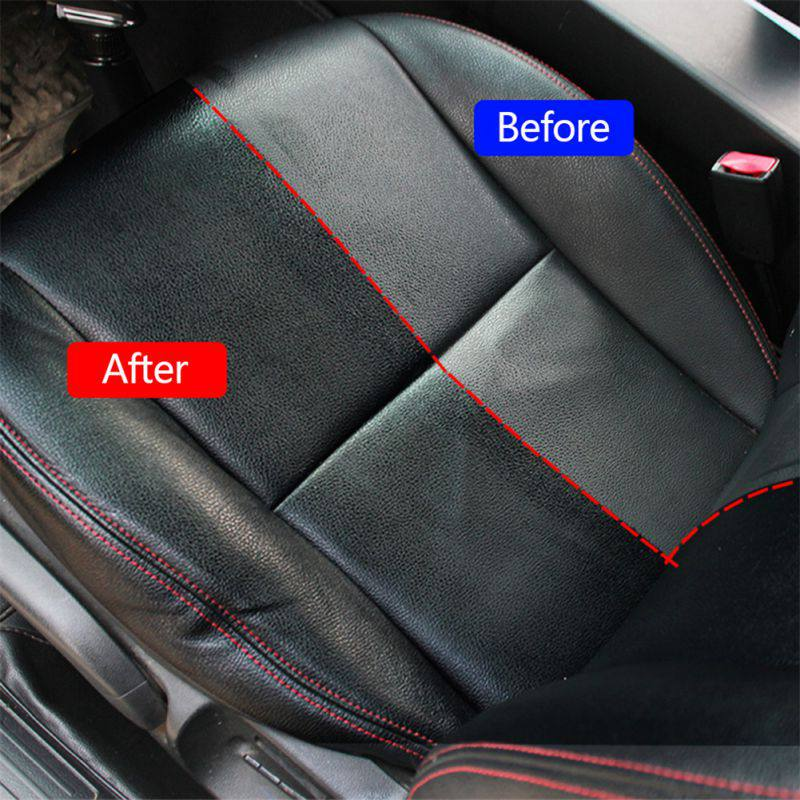 Image 5 - Leather Refurbished Spray Car Dashboard Leather Upholstery Cleaner Dust Remover Polish Wax  Automotive Products-in Paint Cleaner from Automobiles & Motorcycles