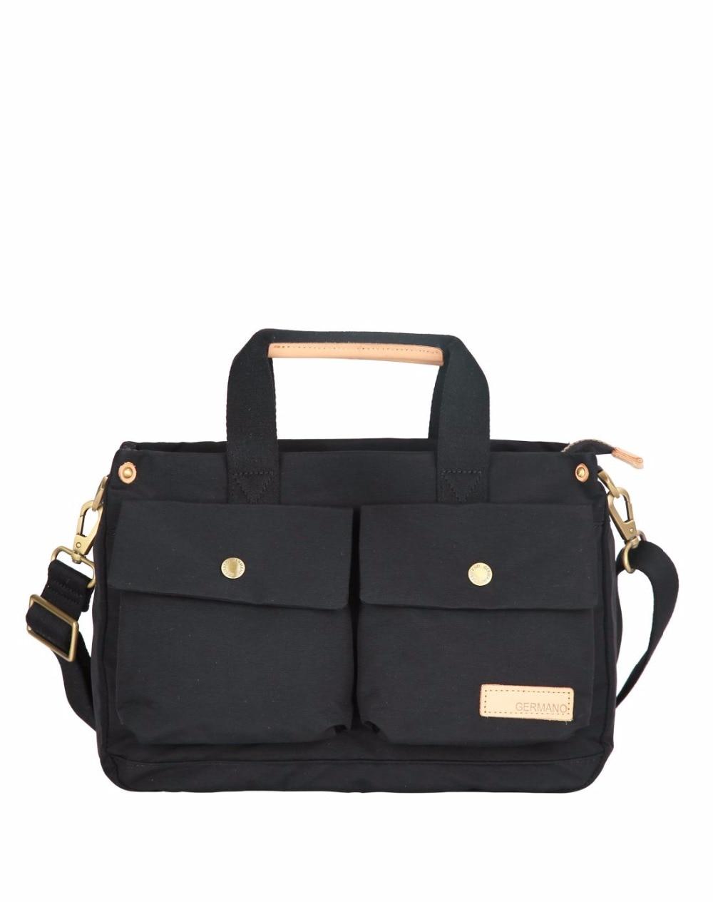 ФОТО Fashion Men Casual Nylon Totes Big Capacity Multi layer Men Briefcase Style Handbag Light Weight Single Shoulder Bags For Men