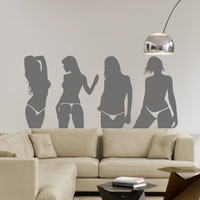 Background Wall Stickers Wallpaper