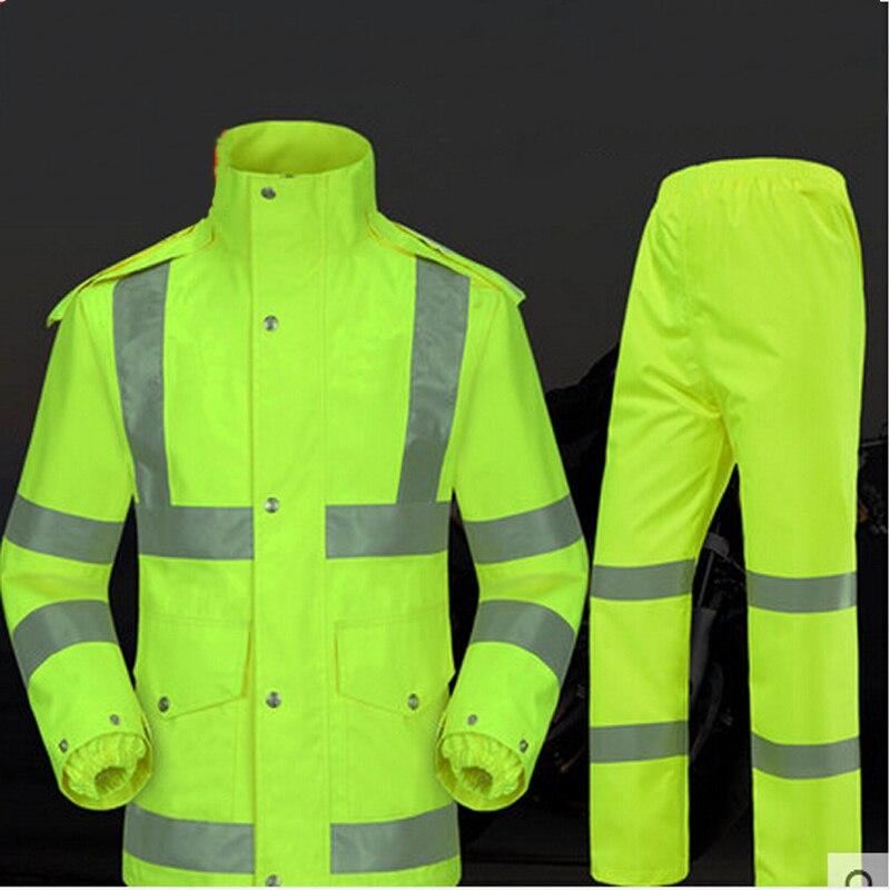 DYCLE Moto Costume Imperm/éable//Pantalon De Pluie 100/% Imperm/éable Et Coupe-Vent Respirant Veste//Pantalon Sports De Plein Air Femme Homme Adulte Combinaison De Pluie