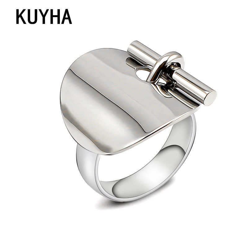Personality High-end Design Ring Blanks For DIY Making Comfort Rings Stainless Steel Jewelry Trend New Holiday Gift