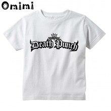 Five Finger Death Punch Children Boys/Girls Casual T Shirt Kids
