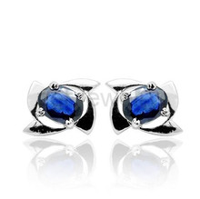 8af16396a PER JEWELRY stud earring 925 sterling silver 0.6ct*2pcs. US $90.00 / Pair Free  Shipping