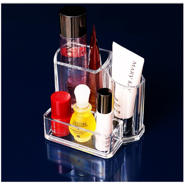 Acrylic Makeup Organizer Cosmetic Lipstick Holder Jewelry Organizer