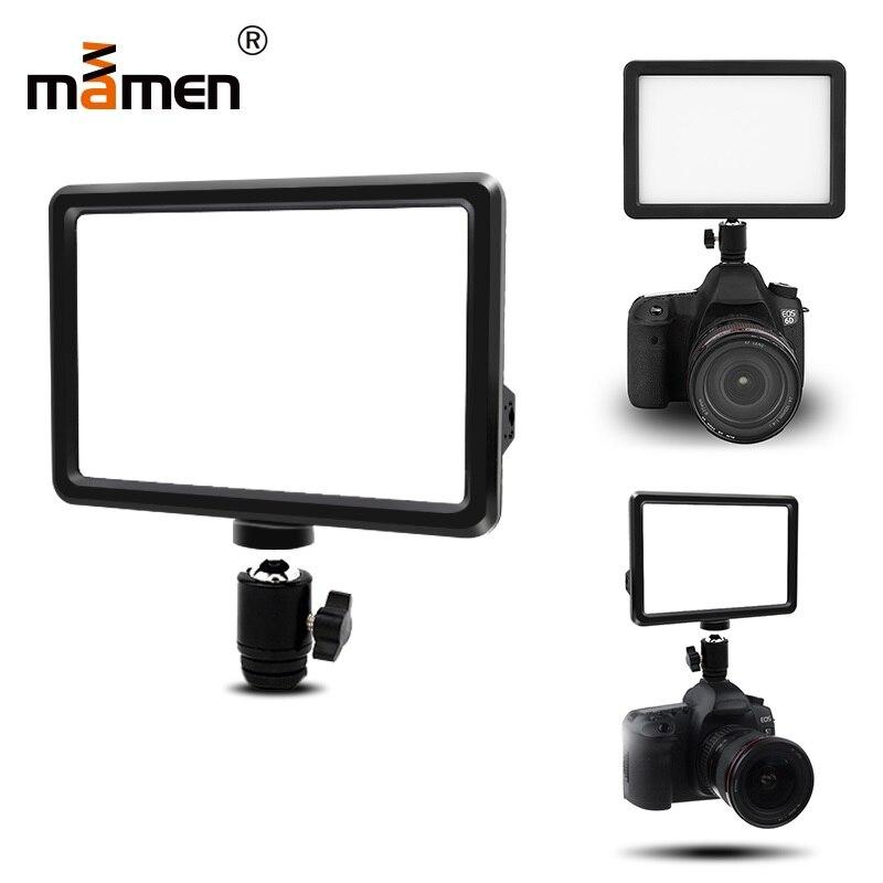 Mamen Photography Lighting For Sony Nikon Canon Flash LED Light Speedlite SLR font b Camera b