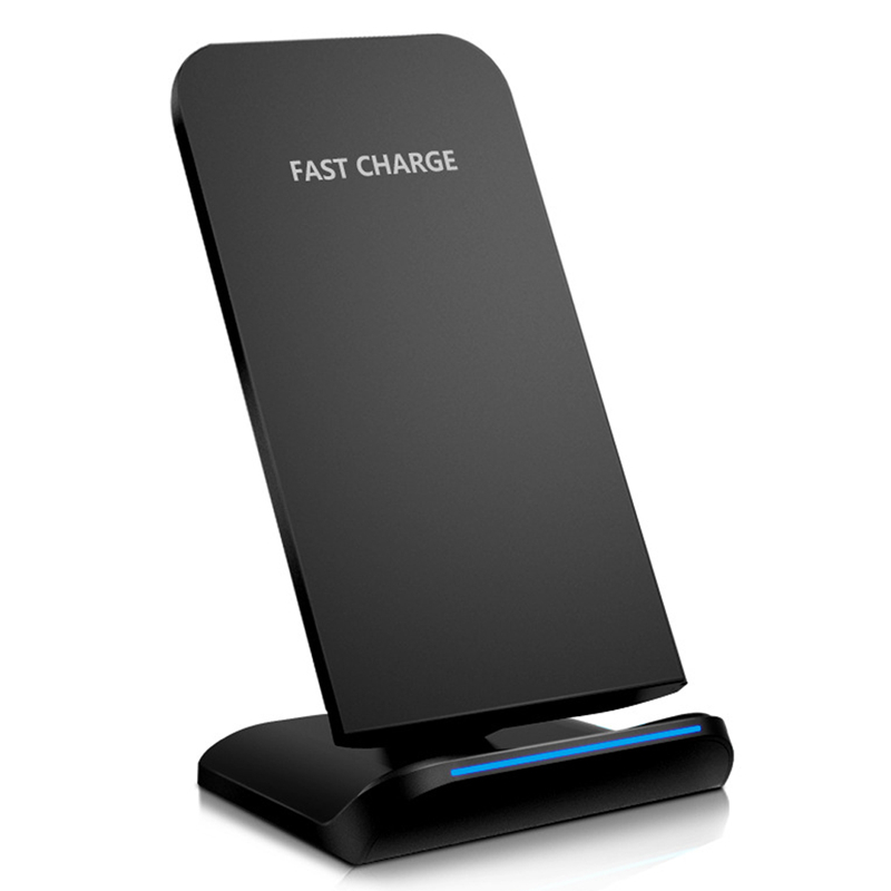 OLLIVAN Qi Wireless Charger For Samsung S8 Plus Note 8 Quick Fast Charging Desktop Dock For