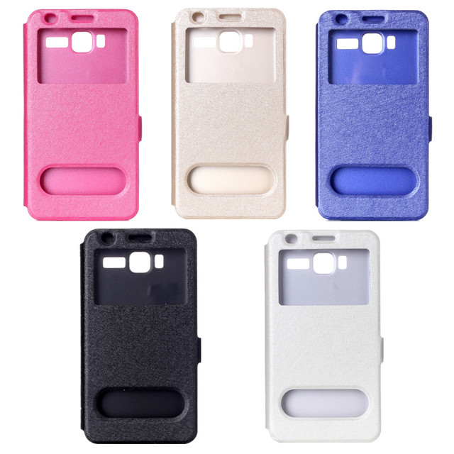A916 phone cases Case Flip Leather Case For Lenovo A916 Protective Cover Case with stand function and open window S4C31D