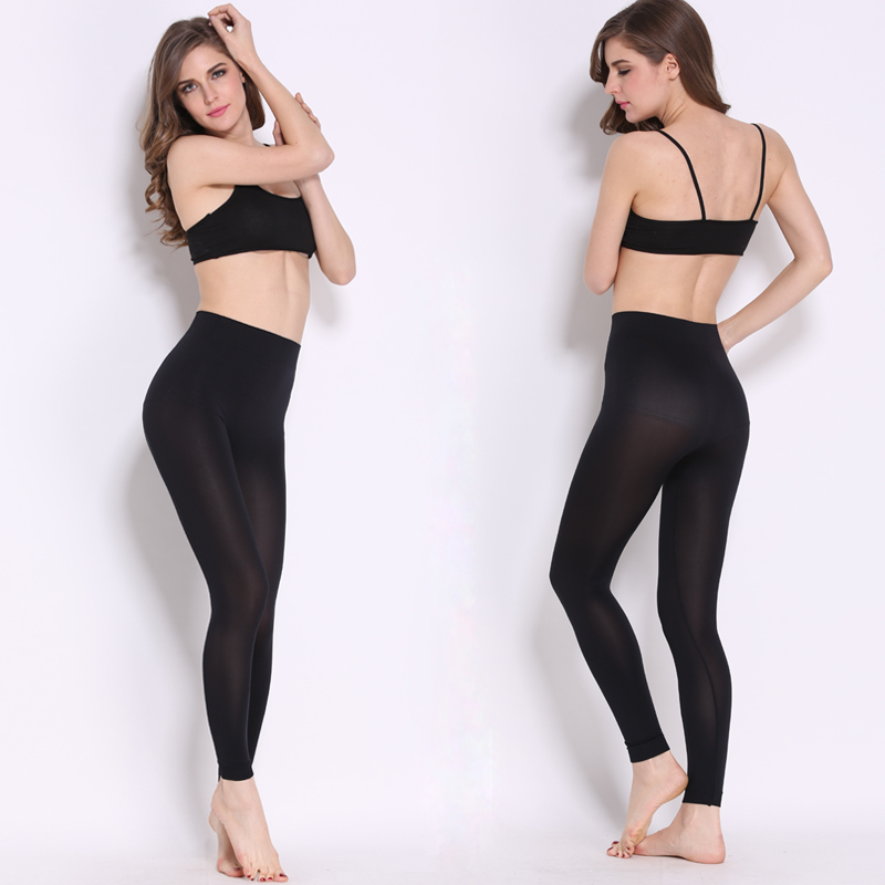 Primăvara toamnei de toamnă Design subțire Super Soft Transparentă Quick Drying Leggings Pantaloni Super Stretch