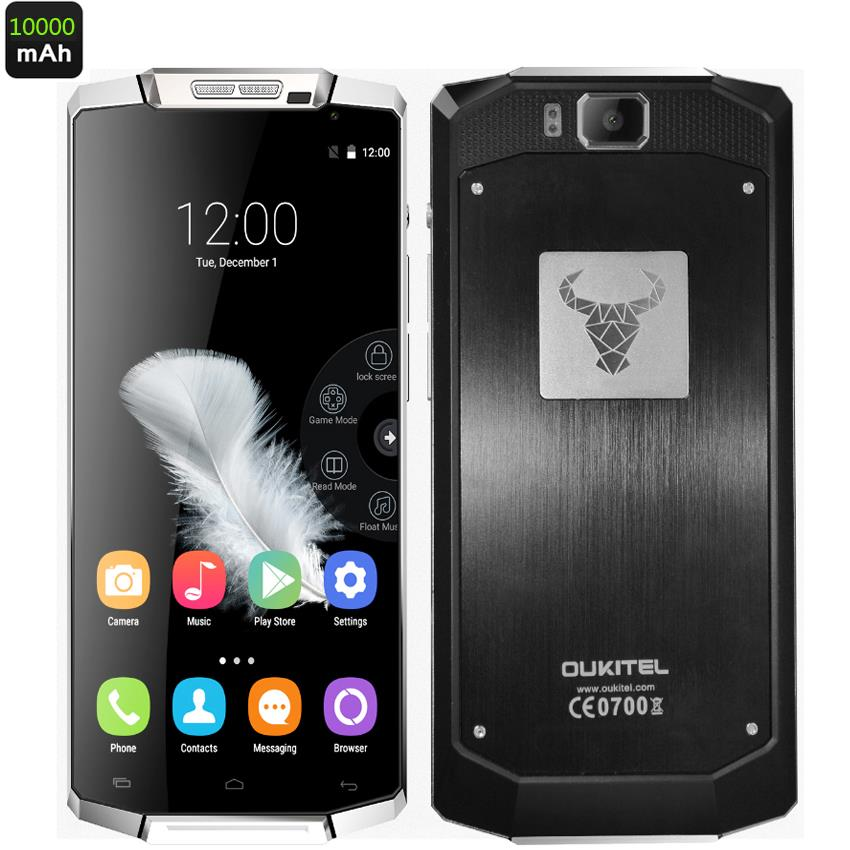 10000mAh Big Battery Original K10000 4G FDD LTE Rugged Smartphone Android 5 1 Lollipop 5 5
