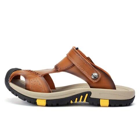 VESONAL 2019 Summer Non-slip Outdoor Hiking Shoes Men Casual Sandals Breathable Fashion Comfortable Beach Sandals 9087 Karachi
