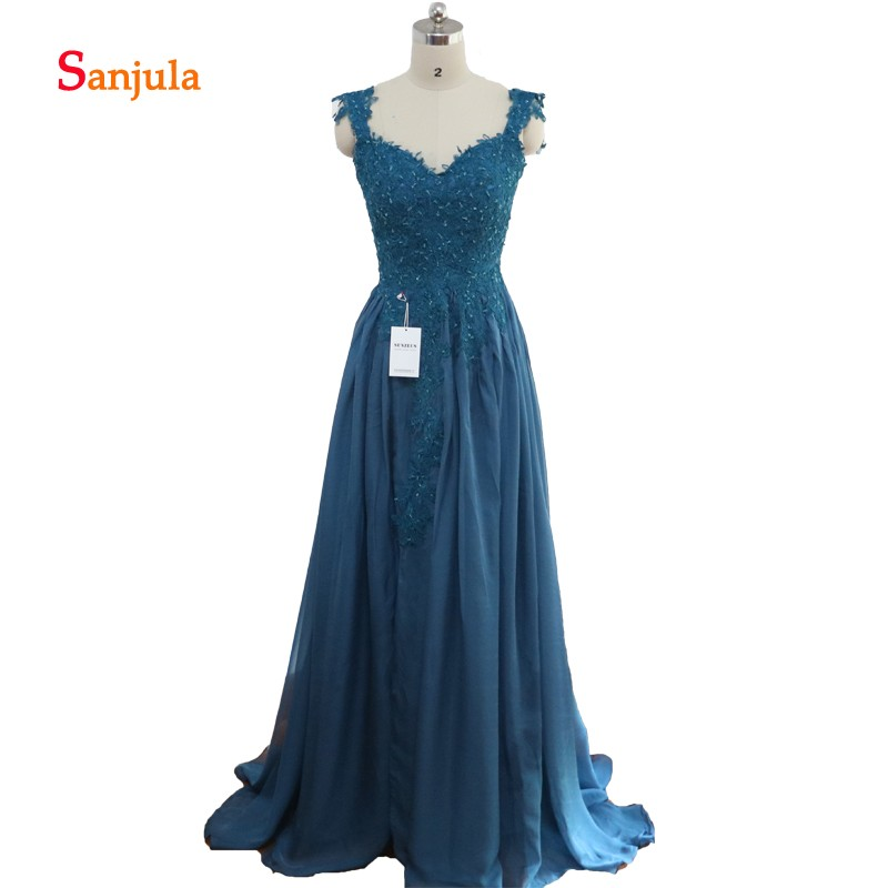 Chiffon Bridesmaid Wedding Party Wear Lace Appliques Beaded Leg Split Slit Prom Dresses Open Back Junior Bridesmaid Dresses D26