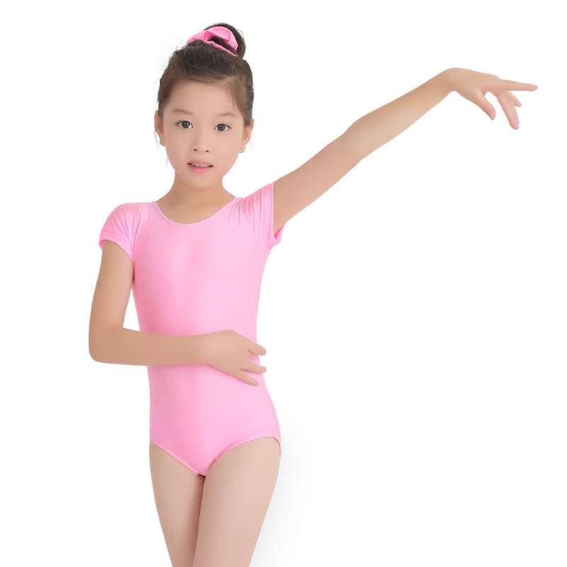 Ballet Dance Practice Clothes For Teen Girls Spandex Lycra Swimsuit Dancing Leotard Kids Dancewear Rhythmic Gymnastics Children girl