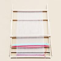 New Design Wooden Loom Knitting Handmade Loom Yarn Weaving knitting Machine Toys 70*47.5*3cm