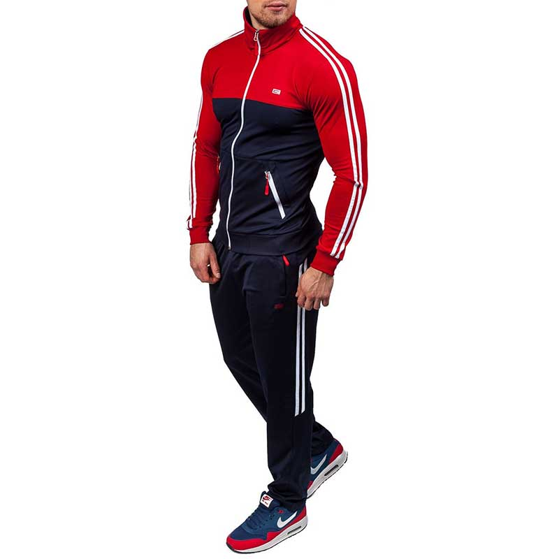 Zogaa 2019 Plus Size Xs-4xl Mens Sets 2 Piece New Men' Fashion Jacket And Sport Pants Set Tracksuit Men Casual Sports Suit