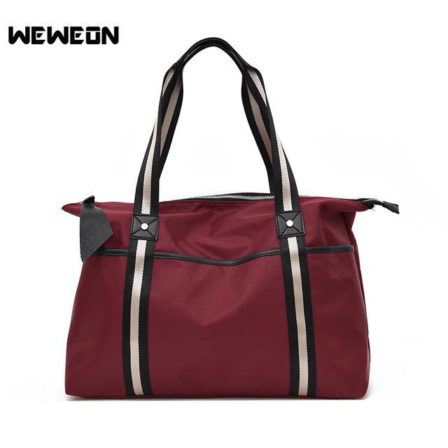 1ad6512ef3 Portable Oxford Sports Bag Training Gym Bag Women Fitness Bags Durable  Multifunctional Handbag Outdoor Sporting Tote