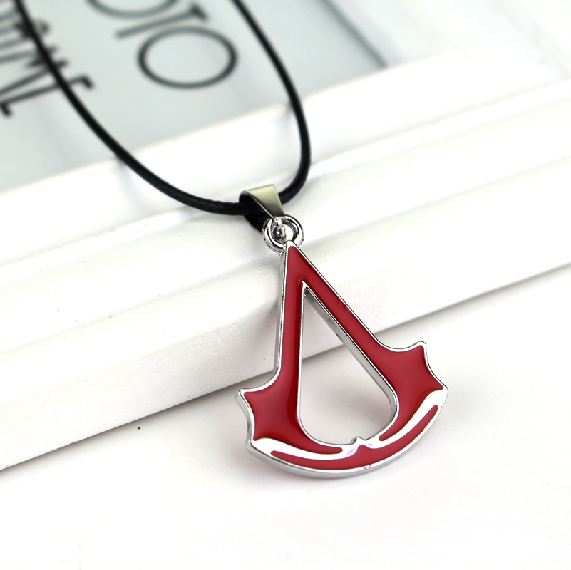 Assassins Creed Logo Pendant Necklace
