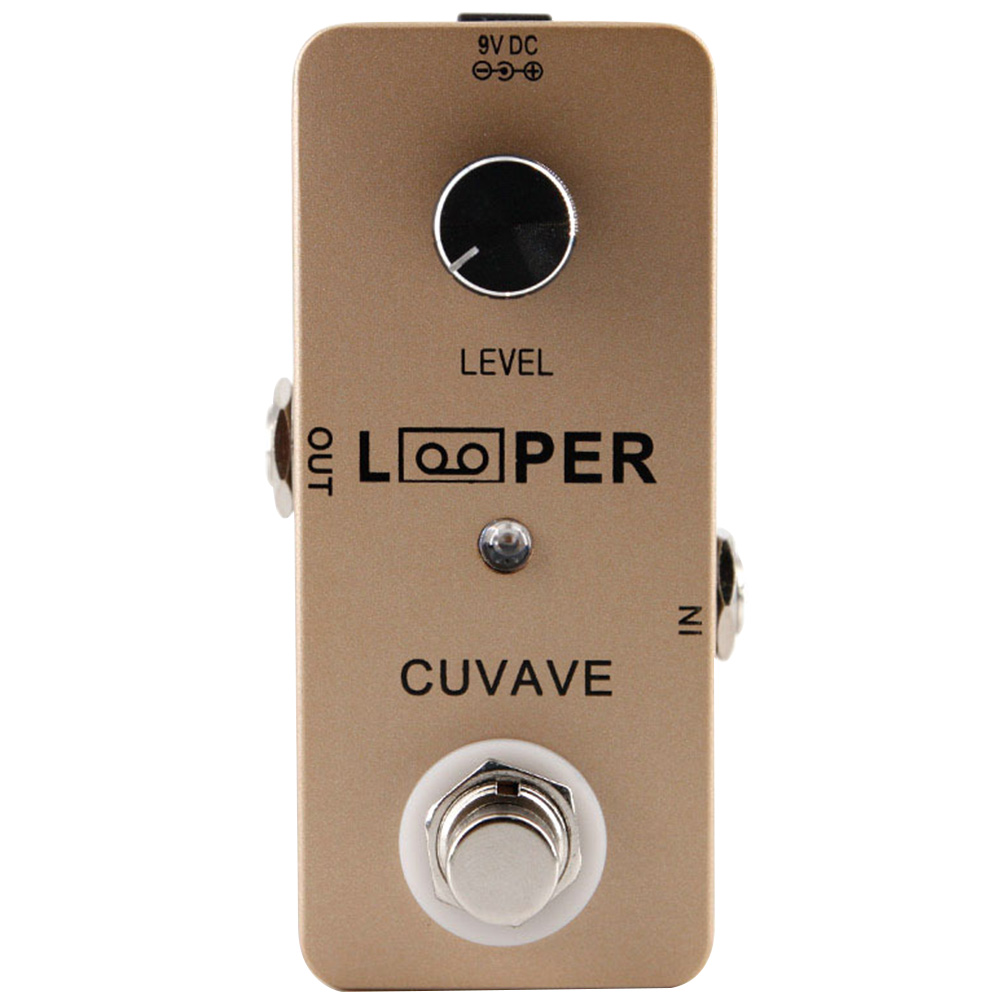 Effect Pendal Multi Track Excellent Condition LED Indicator Recording Looper Electronic Mini USB Guitar Zinc Alloy