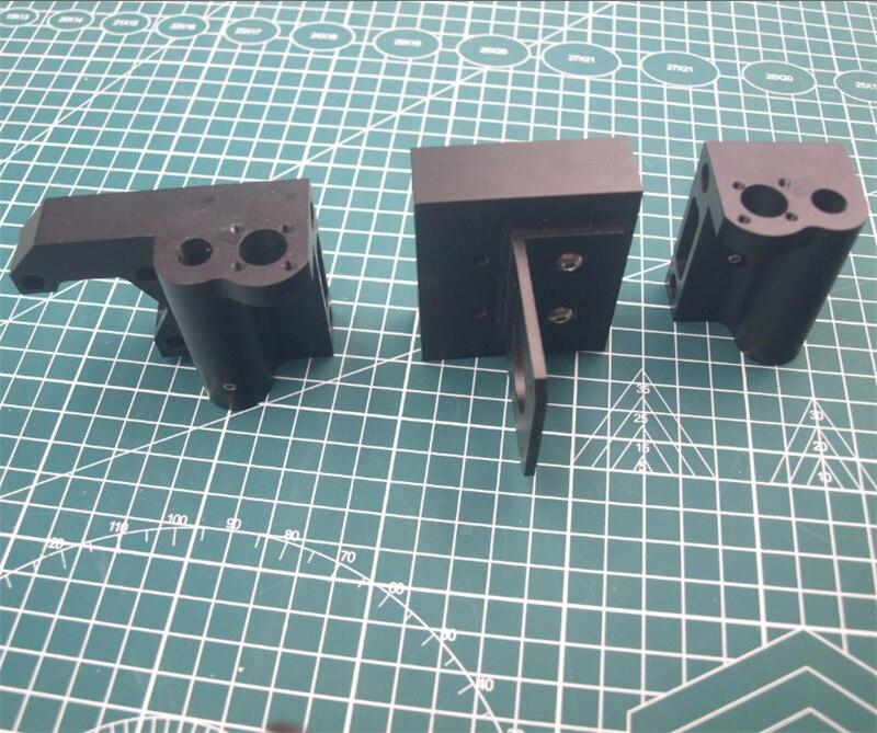 1 pcs Prusa i3 MK2/Anet clone 3D Impressora metal de alumínio eixo X X tensor motor mount X- transporte de Montagem/tensor kit de montagem do motor