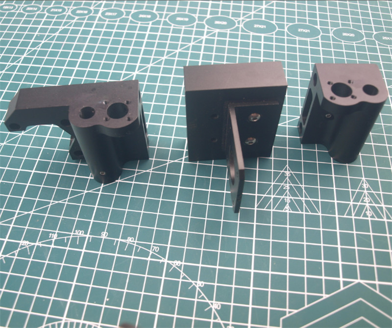 1 pièces Prusa i3 MK2/Anet clone imprimante 3D aluminium métal axe X X tendeur moteur montage x-chariot montage/tendeur moteur kit de montage