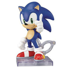 Sonic The Hedgehog Nendoroid 214 PVC Action Figure Model Collection Toy 10 cm(China)