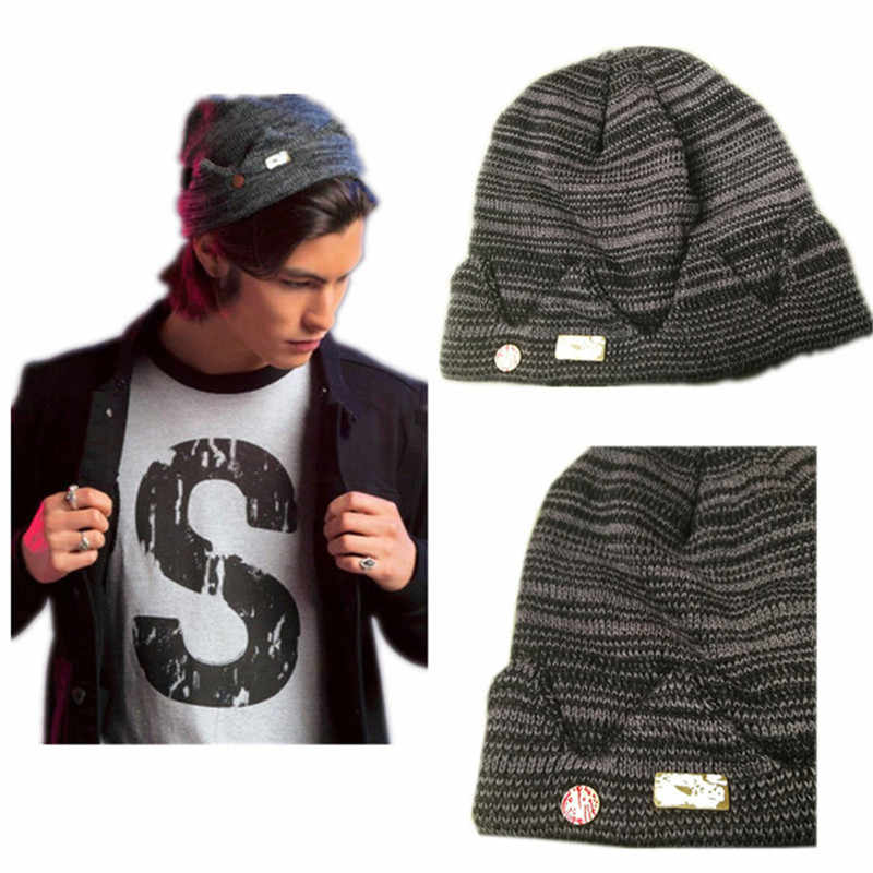 Riverdale Jughead Jones Cosplay Beanie Cap Knitted Hat Hot Topic Exclusive Crown Cap TV Movie Fashion Beanie Skullcaps Winter