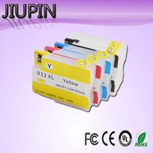 JIUPI compatible FOR hp 932 933 XL 932XL Ink Cartridge for HP Officejet 6100 6600 6700 7110 7610 7612 printer free shipping for hp 932 933 refillable ink cartridge with ink with permanent chips for hp officejet 7110 6100 ink jet printer