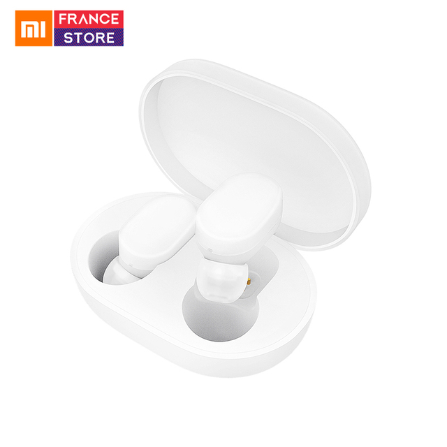 In Stock Xiaomi Mijia AirDots TWS Earphone Bluetooth 5.0 Charging Box Stereo Bass Wireless In-ear With Mic Earbuds AI Control