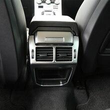 Для Land Rover Range Rover Evoque 2014-2016 интерьер автомобиля аксессуары сзади воздуха на выходе Vent защиты рамка Обложка отделка стикер
