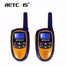 2 unids Mini Walkie Talkie Para Niños Radio Retevis ROMERO RT31 0.5 W 8/22CH PMR446 FRS Radio Portátil Comunicador Pequeño Radio de 2 Vías Para niños