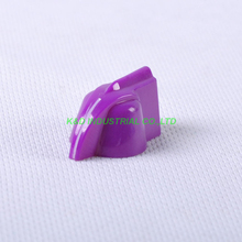 10pcs Colorful Rotary Control Purple Vintage Plastic Knob 31x16mm fr Potentiometer 6.35mm Shaft