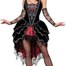 7d4a4e514d137 Adulte reine des Vampires costume halloween costumes pour femmes sexy  cosplay noir gothique lolita robe fantaisie