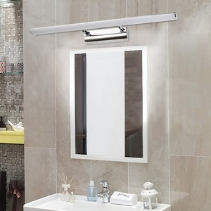 Minimalist LED Wall Lamp Mirror Light Telescopic Indoor Lighting Fixture 110V 220V Waterproof Bathroom Makeup(China)