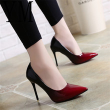 2018 Shadow Women Shoes Pointed Toe Pumps