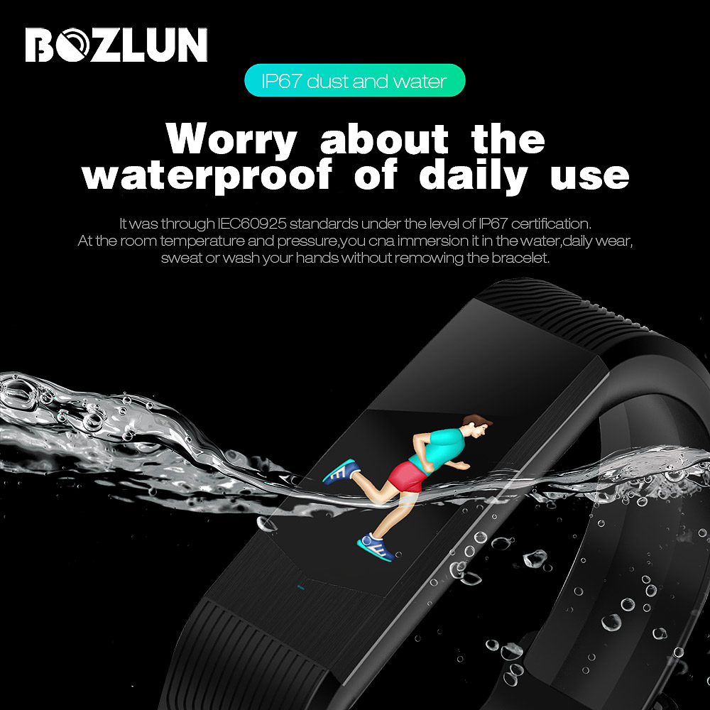 SKMEI Blood Pressure Bluetooth Smart Wristband Men Women Heart Rate Pedometer Alarm Watches Sleep Tracker Relogio Masculino B30