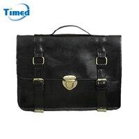 2017 Europe Style Vintage Women S Briefcases England Style Messenger Bag Casual OL File Laptop Handbag