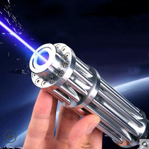 HOT! haute Puissance 5000000 m Bleu Pointeurs Laser 450nm Lazer lampe de Poche Allumette/Brûler cigares légers/bougie/noir chasse