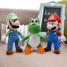 15-41cm Super Mario Bros Plush Toys Yoshi Goomba Stuffed Animals Soft Toy Doll Birthday Gifts Kids Children Peluches De Animales