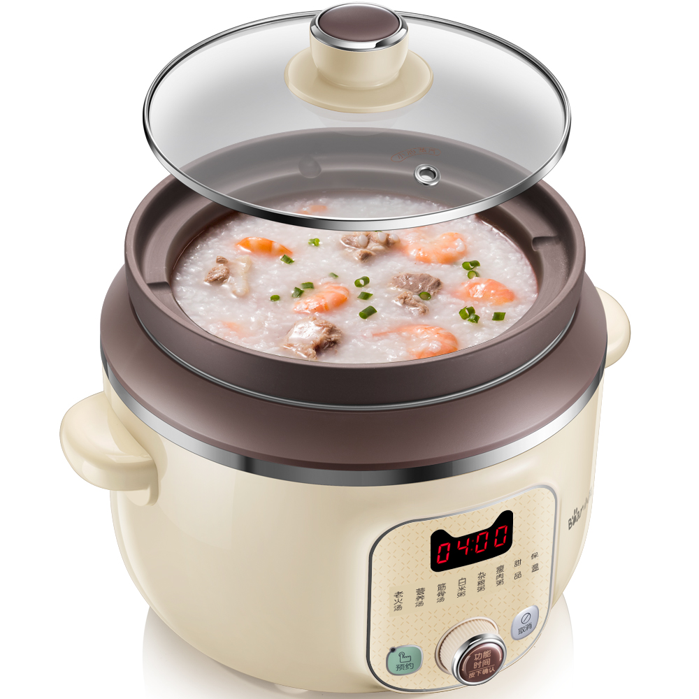 220V Good Quality Electric Multifunction Cooking Stewing Machine Multi Cooker Automatic Purple Clay Inner EU/AU/UK Plug Pot220V Good Quality Electric Multifunction Cooking Stewing Machine Multi Cooker Automatic Purple Clay Inner EU/AU/UK Plug Pot